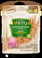 Heinz каша цельнозерновая пшеничная безмолочная с 5мес. 180г