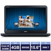 "Ноутбук Dell Inspiron N5050 Black (15,6"" | Intel Core i5 2430M | 4GB RAM | 500GB HDD | Windows 7)"