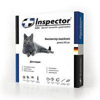 Инспектор ошейник для кошек длина 40см 1уп*5шт