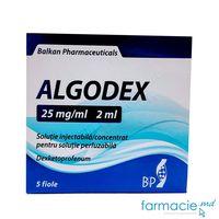 Algodex sol. inj. / conc./sol. perf. 25 mg/ml 2 ml N5(Balkan)