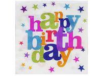 """купить Набор салфеток бумажных """"Happy Birthday"""" 20шт, 32X32cm в Кишинёве"""