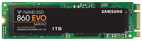 M.2 SATA SSD 1.0TB  Samsung SSD 860 EVO MZ-N6E1T0BW