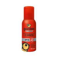 Репеллент Gardex Extreme Аэрозоль от комаров и других насекомых 80 ml (одежда и снаряжение 24 hours), red, 0140