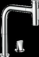 Metris Select M71 Baterie de bucătărie, cu dus extensiv, 2jet, sBox