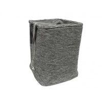 cumpără Coș tricot cu cordon 400x400x550 mm, gri în Chișinău