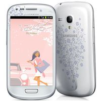 Samsung I8200 White La Fleur Galaxy S III mini Neo 8GB