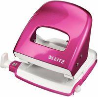 Leitz Дырокол LEITZ 5008, 30 листов, розовый