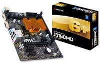 Biostar J3160MD, MB + CPU onboard Quad-core Celeron J3160