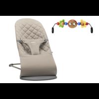 Кресло-шезлонг  BabyBjorn Bliss Sand Grey