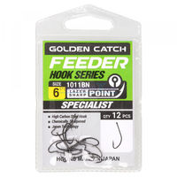 Крючки Golden Catch Feeder Nr6, 12шт