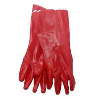 Перчатки  PVC (красные)