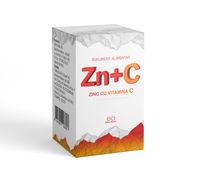 💚 Zn+C (Цинк с витамином С). 60 драже.