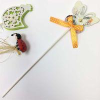 Фигура на палочке бабочка/божья коровка/курица