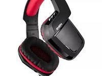 Игровая гарнитура SVEN AP-U995MV, драйверы 50 мм, 20-20000 Гц, 32 Ом, 108 дБ, 520 г., USB, черный / красный