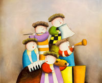 Oil Paintings Musicians (PEO15000889)