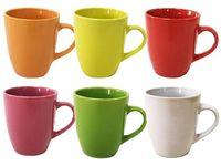 Чашка 300ml, разных цветов, керамика