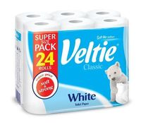 Veltie туалетная бумага, 24 рулона 2 слоя