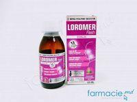LOROMER Vegan sirop 125 ml 3+ (nas infundat, git inflamat, tuse, imunitate)