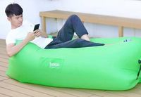 Hoco Aerated Sofa Lazy Green