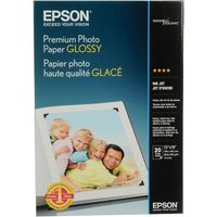 EPSON Photo Paper Glossy, 13cm x 18cm, 50 Sheets