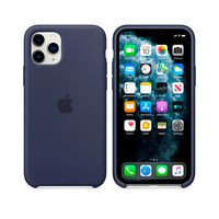 Apple Original Silicone Case Iphone 11 Pro, Midnight Blue