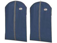 Чехол для одежды 65X100cm BLUE, тканевый