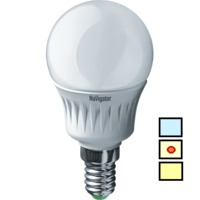 (B) LED (5W)  NLL-P-G45-5-230-4K-E14 (Standard)