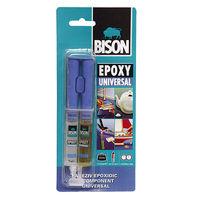 Bison Epoxy Universal, эпоксидный клей adeziv forte 2x12 ml