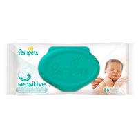 Влажные салфетки Pampers Sensitive 56 шт