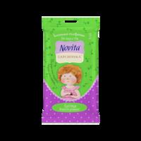 Салфетки влажные для снятия макияжа Novita Gapchinska, 15 шт.