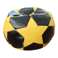 cumpără Fotoliu - sac Football Big Star Sherif negru/galben în Chișinău