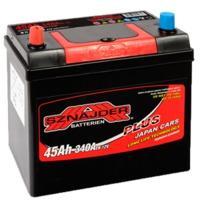 Аккумулятор SNAIDER 45 Ah Plus Japan Cars