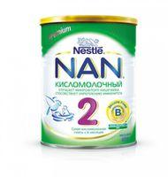 Nestle NAN® 2 Кисломолочный 400gr.