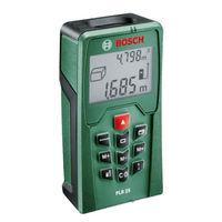 Дальномер лазерный PLR 25 Bosch