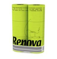 купить Renova Туалетная бумага зеленая ( 6) в Кишинёве