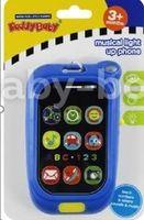 Baby Mix KP-0880 BLUE Музыкальный Телефон