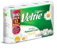 Veltie туалетная бумага Natural Care Ромашка