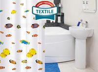 Tatkraft BLUE LAGOON штора для ванной 14640