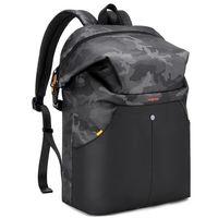 """Рюкзак-торба Tangcool 8029 для ноутбука дo 15.6"""", водонепроницаемый, тёмный камуфляж"""
