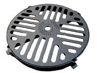 купить Решетка с рамой чугунная канализационная(круглая) ф.500мм  B125  (550x60x19.6kg) в Кишинёве