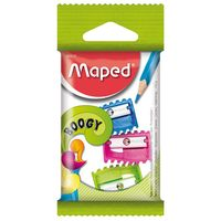 MAPED Точилка MAPED Boogy, 3 штуки, блистер