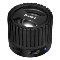 SVEN PS-40 3W, Black Bluetooth Portable Speaker