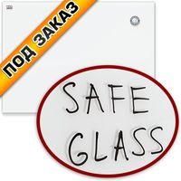 2X3 Доска магнитно-стеклянная 2X3 80х60см белая