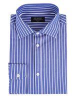 Рубашка TOP SECRET Синий в полоску