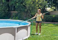 Набор для чистки бассейна (сачёк, щётка, насос)