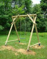 Patio Swing Wood