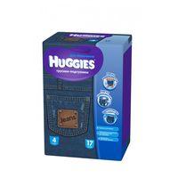 Scutece-chiloţei Huggies Little Walkers Jeans Small  4  (9-14 kg)  17 buc.  BOY