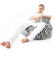 Because - Zebra – Royal Bean Bag