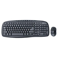 купить SVEN Comfort 3400 Wireless, Keyboard & Mouse, 2.4GHz , Multimedia Keyboard(8 keys) + Mouse(5 keys,800/1200/1600dpi), Nano receiver, USB, Black в Кишинёве