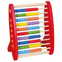 Viga jucărie din lemn Abacus